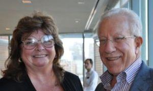 Debra Amidon (CEO Entovation International) & Joel Schwartz (EMC SVP)