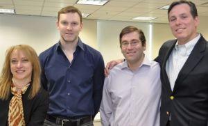 Peter Alto, Fidelity; Mitchell Leiman, Bain; and Ellott Seaborn, Arnold Worldwide