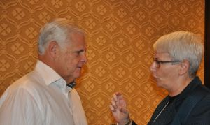Joe Tucci and Dr. Orna Berry