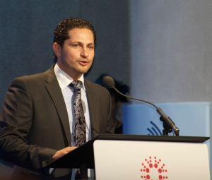 Hult Founder and CEO of the Hult, Prize Ahmad Ashkar