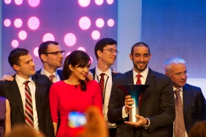 Aspire, Hult Prize 2013 winning team from Canada's McGill University