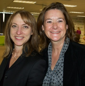 Sheryl Chamberlain and Johanna Wise Connect Work Thrive Conference Founder