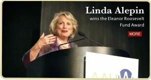 Linda Alepin, Eleanor Roosevelt Award Winner