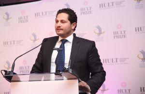 Ahmad Ashkar CEO & Founder Hult Prize